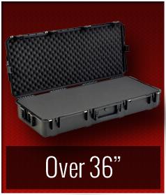 """Over 36"""" SKB Waterproof Cases"""