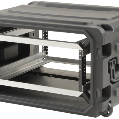 4U Roto Shock Rolling Rack Case